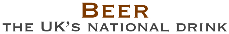 Beer, the UK's national drink