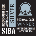 SIBA South East Regional Beer Awards 2018 - Silver